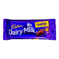 CADBURY DAIRY MILK CRACKLE CHOCOLATE 38 GM