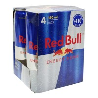 RED BULL ENERGY DRINK 4X 250 ML