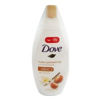 DOVE PURELY PAMPERING BODYWASH WITH VANILLA 190 ML