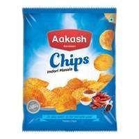 AAKASH NAMKEEN INDORI MASALA POTATO CHIPS 60.00 GM PACKET
