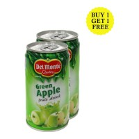 DEL MONTE GREEN APPLE FRUIT DRINK 180 ML BUY 1 GET 1 FREE