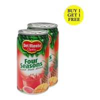 DEL MONTE FOUR SEASONS MIXED FRUIT DRINK 180 ML BUY 1 GET 1 FREE