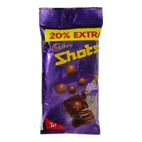 CADBURY DAIRY MILK SHOTS CHOCOLATE