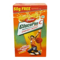 DABUR GLUCOPLUS-C  ORANGE 500.00 GM BOX