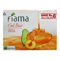 FIAMA MILD DEW GEL BAR 3X  125.00 GM BOX