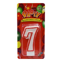 7 NUMBER BIRTHDAY CANDLE