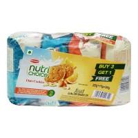 BRITANNIA NUTRI CHOICE OATS COOKIES 4X 75 GM