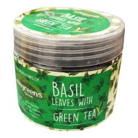 WINGREENS FARMS BASIL LEAVES WITH GREEN TEA 60 GM