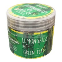 WINGREENS FARMS LEMONGRASS WITH GREEN TEA 60 GM