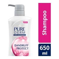 PURE-DERM ANTI DANDRUFF PROTECT SHAMPOO 650.00 ML BOTTLE