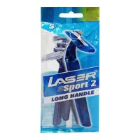 LASER SPORT 2 LONG HANDLE RAZOR 5 PCS BUY 1 GET 1 FREE 1.00 NO
