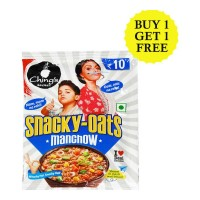 CHINGS SECRET SNACKY-OATS MANCHOW 25 GM BUY 1 GET 1 FREE