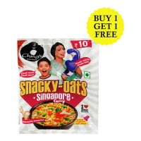 CHINGS SECRET SNACKY-OATS SINGAPORE CURRY 25 GM BUY 1 GET 1 FREE