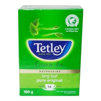 ONDOOR TETLEY PURE ORIGINAL LONG LEAF GREEN TEA 100 GM BUY 1 GET 1 FREE 1.00 NO