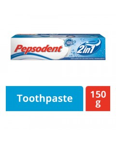 PEPSODENT 2 IN 1 GERMI CHECK TOOTHPASTE 150.00 GM BOX