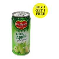 DEL MONTE GREEN APPLE FRUIT DRINK 240 ML BUY 1 GET 1 FREE
