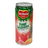 DEL MONTE FOUR SEASON FRUIT DRINK 240 ML BUY 1 GET 1 FREE