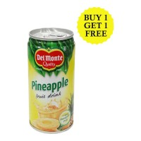 DEL MONTE PINEAPPLE FRUIT DRINK 240 ML BUY 1 GET 1 FREE