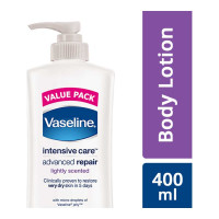 VASELINE INTENSIVE CARE ADVANCED REPAIR LOTION 400.00 ML BOTTLE