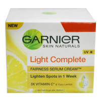 GARNIER LIGHT COMPLETE FAIRNESS SERUM CREAM 23.00 GM BOX