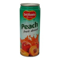 DEL MONTE PEACH FRUIT DRINK 240 ML BUY 1 GET 1 FREE 1.00 NO