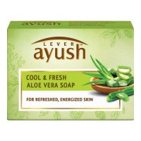 AYUSH COOL & FRESH ALOE VERA SOAP 100.00 GM BOX