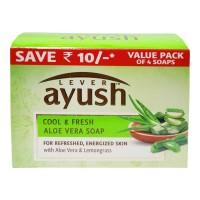 AYUSH COOL & FRESH ALOE VERA SOAP 4X 100.00 GM BOX