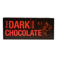 AMUL DARK CHOCOLATE COCOA BEANS 150.00 GM BOX