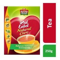 BROOKE BOND RED LABEL NATURAL CARE TEA 250 GM