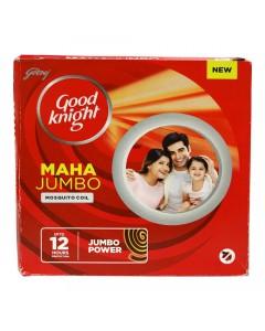 GOOD KNIGHT MAHA JUMBO MOSQUITO COIL 10.00 PCS BOX