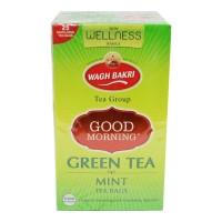WAGH BAKRI GOOD MORNING GREEN TEA MINT 25 BAGS 1.00 NO