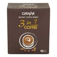 GIRNAR INSTANT PREMIX 3 IN 1 COFFEE 10 SACHETS 140.00 GM BOX