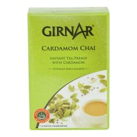 GIRNAR INSTANT PREMIX CARDAMOM TEA 10 SACHETS 140.00 GM BOX