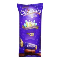 CADBURY CHOCLAIRS GOLD TOFFEE 115 UNITS 632.50 GM PACKET