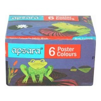 APSARA POSTER COLOURS 6.00 PCS BOX