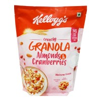 KELLOGGS GRANOLA ALMOND & CRANBERRIES 460.00 GM PACKET