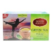 WAGH BAKRI GOOD MORNING TULSI GREEN TEA 25 BAGS 1.00 NO