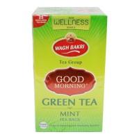 WAGH BAKRI GOOD MORNING GREEN TEA MINT 25 BAGS BUY 1 GET 1 FREE 1.00 NO