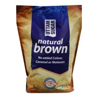 UTTAM-SUGAR NATURAL BROWN 1.00 KG PACKET