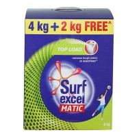 SURF EXCEL MATIC TOP LOAD DETERGENT POWDER 4.00 KG PACKET