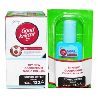 GOOD KNIGHT ACTIV+ CARTRIDGE 45 ML+FABRIC ROLL ON 8 ML COMBO 1.00 NO