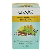 GIRNAR GREEN TEA DESI KAHWA 36 BAGS 1.00 NO BOX