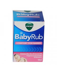 VICKS BABY RUB 50.00 GM