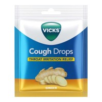 VICKS COUGH DROPS GINGER CANDY 20.00 PCS PACKET