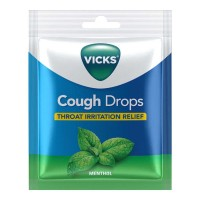 VICKS COUGH DROPS MENTHOL CANDY 20 PCS PACKET