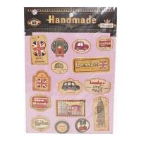 HANDMADE 6D STICKER 1.00 NO