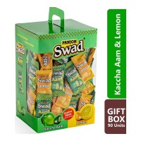 SWAD MIXED KACCHA AAM & LEMON CANDY 90.00 PCS BOX