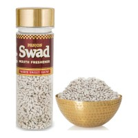 SWAD MOUTH FRESHENER WHITE SWEET SAUNF 110.00 GM JAR