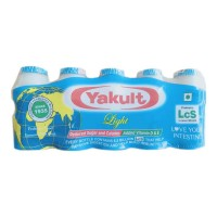 YAKULT PROBIOTIC LIGHT HEALTH DRINK 5X 65.00 ML BOTTLE