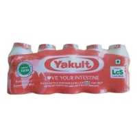 YAKULT PROBIOTIC HEALTH DRINK 5X 65.00 ML BOTTLE
